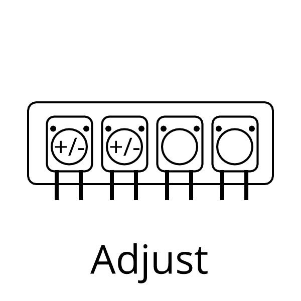 Adjust dosage of